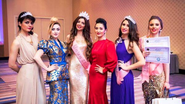 Узбекистанка завоевала звание 1-вице мисс юнион в конкурсе красоты - Sputnik Ўзбекистон