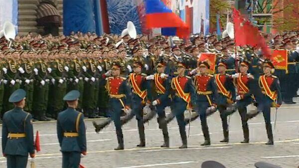 Parad Pobedы na Krasnoy ploщadi v Moskve - Sputnik Oʻzbekiston