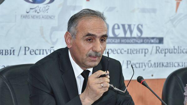 Shamsiddin Orumbekzoda na press-konferentsii Ministerstva kulturы RT - Sputnik Oʻzbekiston