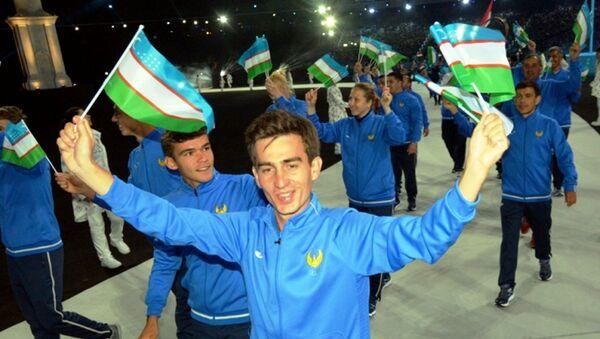 Узбекские спортсмены в Баку - Sputnik Узбекистан