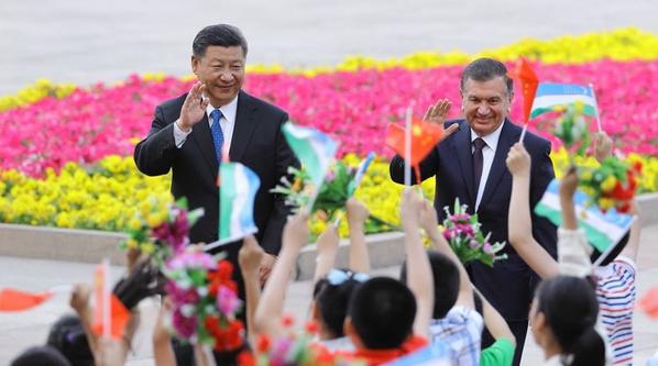Визит Шавката Мирзиёева в Китай - Sputnik Узбекистан