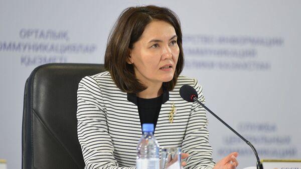 Айнур Соспанова - Sputnik Узбекистан