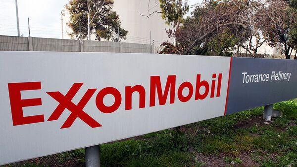 Logotip kompanii ExxonMobil - Sputnik Oʻzbekiston