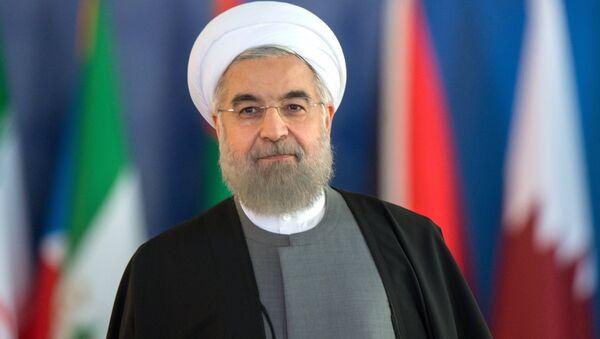 Prezident Islamskoy Respubliki Iran Xasan Rouxani, foto iz arxiva - Sputnik Oʻzbekiston