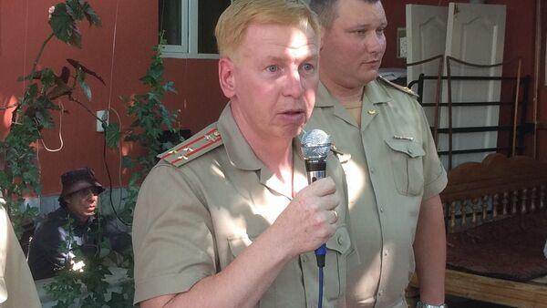 Военный атташе посольства России в Узбекистане Сергей Чернышев - Sputnik Ўзбекистон