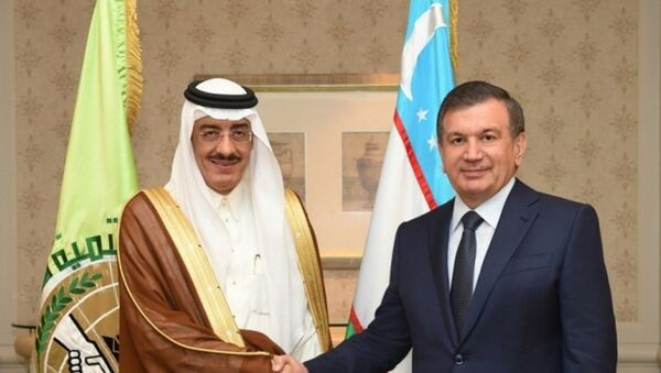 Встреча Мирзиёева с главой ИБР - Sputnik Ўзбекистон