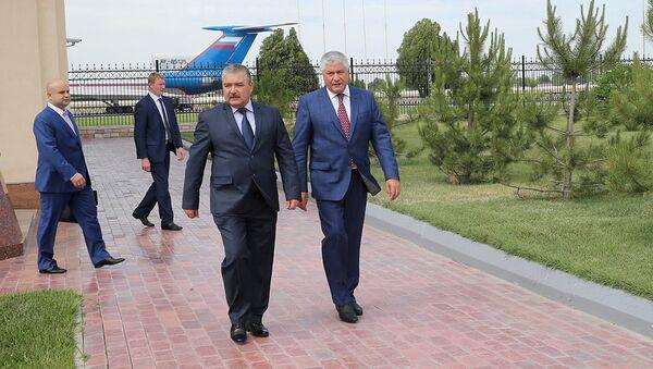 Ministr vnutrennix del Rossii general Vladimir Kolokoltsev pribыl s rabochim vizitom v Uzbekistan - Sputnik Oʻzbekiston