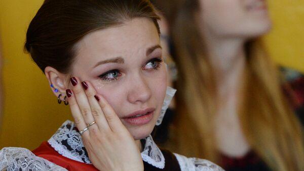 Праздник Последний звонок в школах России - Sputnik Ўзбекистон