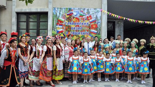 Славянский базар в РЦНК в Ташкенте — праздник дружбы народов - Sputnik Узбекистан