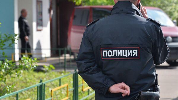 Сотрудник полиции РФ. - Sputnik Ўзбекистон