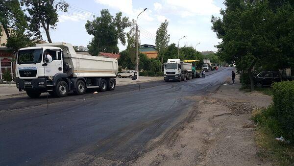 Ремонт дороги в Ташкенте - Sputnik Ўзбекистон