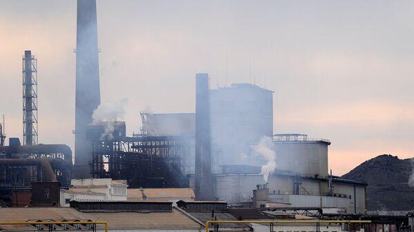 Загрязнение производством окружающей среды - Sputnik Ўзбекистон