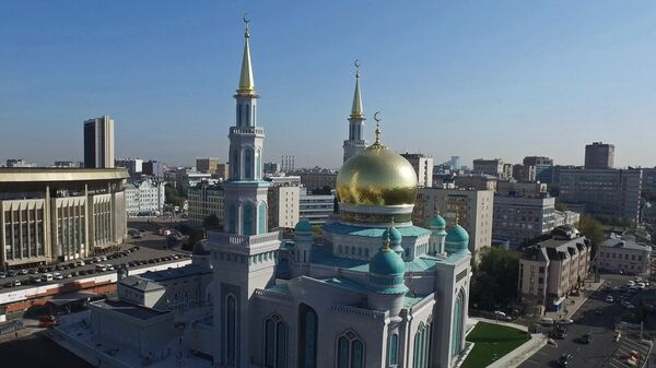 Moskvadagi jome masjidi - Sputnik Oʻzbekiston