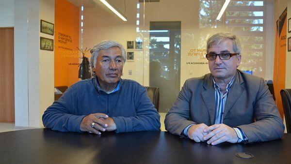 Адахан Хасанов и Артур Адлейба - Sputnik Узбекистан