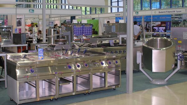 XII международная специализированная выставка-продажа современного оборудования и технологий для агропромышленного комплекса Uzbekistan Agrotech Expo – 2017 - Sputnik Узбекистан