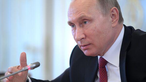 Президент РФ В. Путин принял участие в работе XXI Петербургского международного экономического форума - Sputnik Ўзбекистон