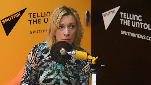 Мария Захарова - Sputnik Узбекистан
