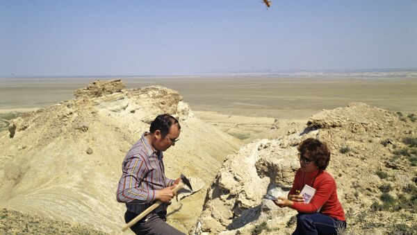 Геологическая разведка - Sputnik Узбекистан