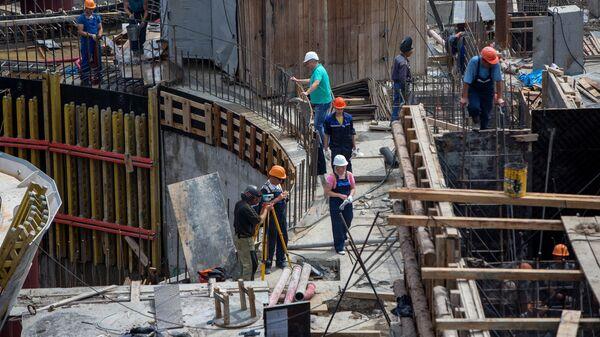Строительство ГЭС - Sputnik Узбекистан