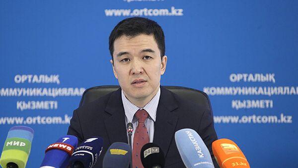 Вице-министр национальной экономики Казахстана Руслан Даленов - Sputnik Узбекистан