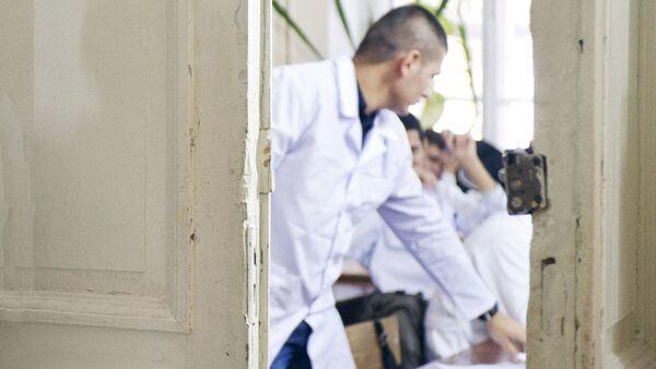 Студенты медицинского колледжа - Sputnik Узбекистан