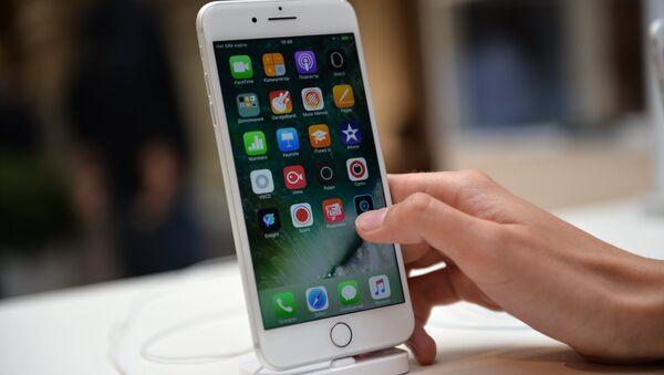 Старт продаж iPhone 7 и iPhone 7 Plus - Sputnik Ўзбекистон