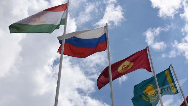Флаги стран ОДКБ, архивное фото - Sputnik Узбекистан