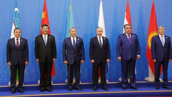 SHHTga a'zo davlatlar rahbarlari - Sputnik Oʻzbekiston