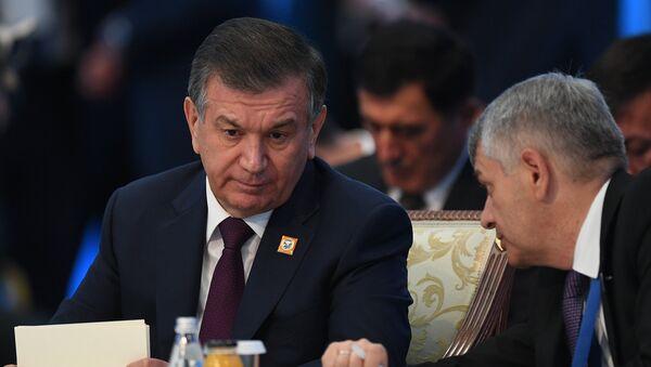 Prezident Uzbekistana Shavkat Mirziyeyev na zasedanii soveta glav gosudarstv - chlenov Shanxayskoy organizatsii sotrudnichestva (SHOS) v rasshirennom sostave - Sputnik Oʻzbekiston