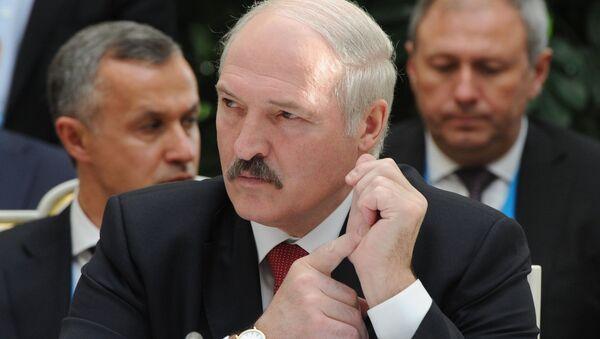 Prezident Respubliki Belorussiya Aleksandr Lukashenko  - Sputnik Oʻzbekiston