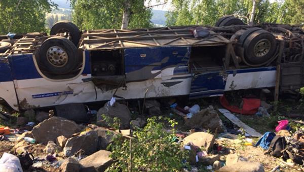 ДТП с автобусом в Забайкалье - Sputnik Узбекистан