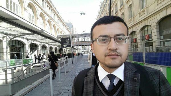 Bloger Mirzo Subxanov - Sputnik Oʻzbekiston