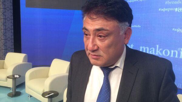 Первый зампредседателя НТРК Бобир Алиханов - Sputnik Ўзбекистон