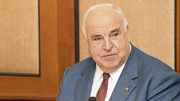 Germaniyaning sobiq kantsleri Gelmut Kol - Sputnik Oʻzbekiston