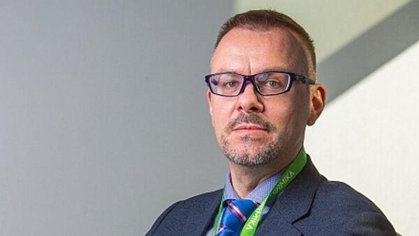 Заместитель генерального комиссара Россия на ЭКСПО-2017 Антон Атрашкин - Sputnik Узбекистан