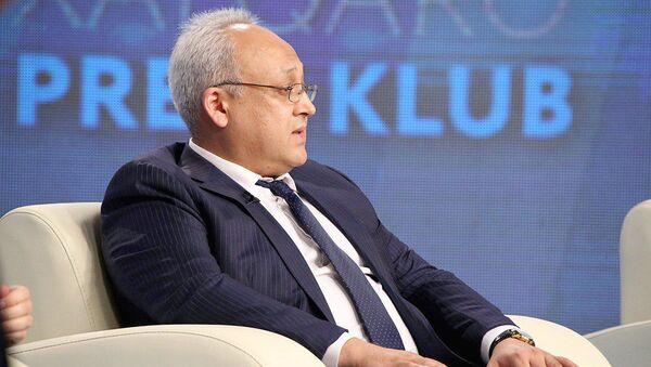 Generalnыy sekretar Federatsii futbola Uzbekistana Sardor Raxmatullayev - Sputnik Oʻzbekiston