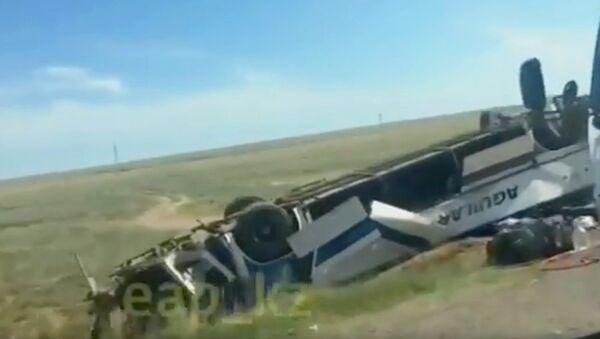 Авария с автобусов в Казахстане - Sputnik Ўзбекистон