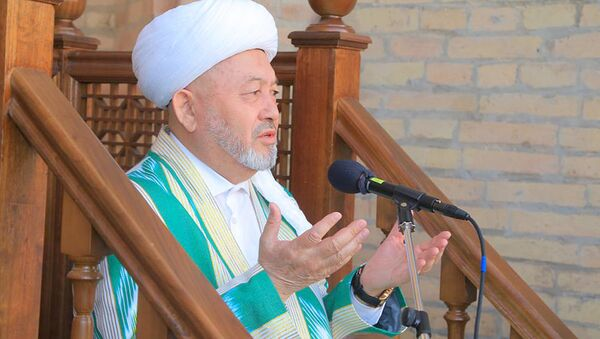 Hazrati imom masjididagi Hayit namozi - Sputnik Oʻzbekiston