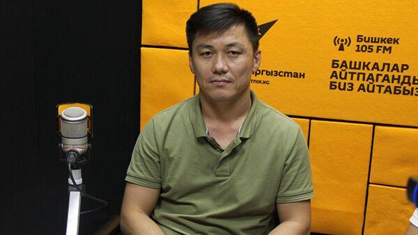 Мастер-тренер по первой доврачебной помощи Замир Дуйшеев во время интервью Sputnik Кыргызстан - Sputnik Узбекистан