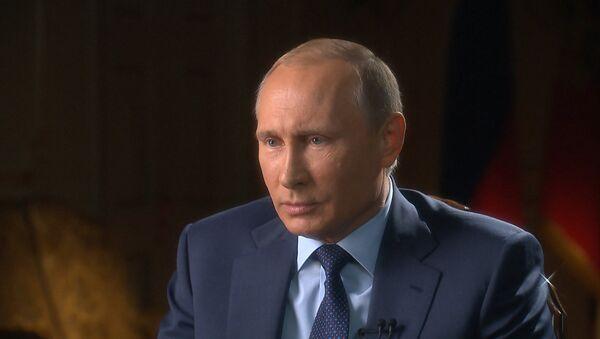 Путиннинг CBS ва PBS каналларига берган интервюси: Россия Сурияда, Украина можароси - Sputnik Ўзбекистон