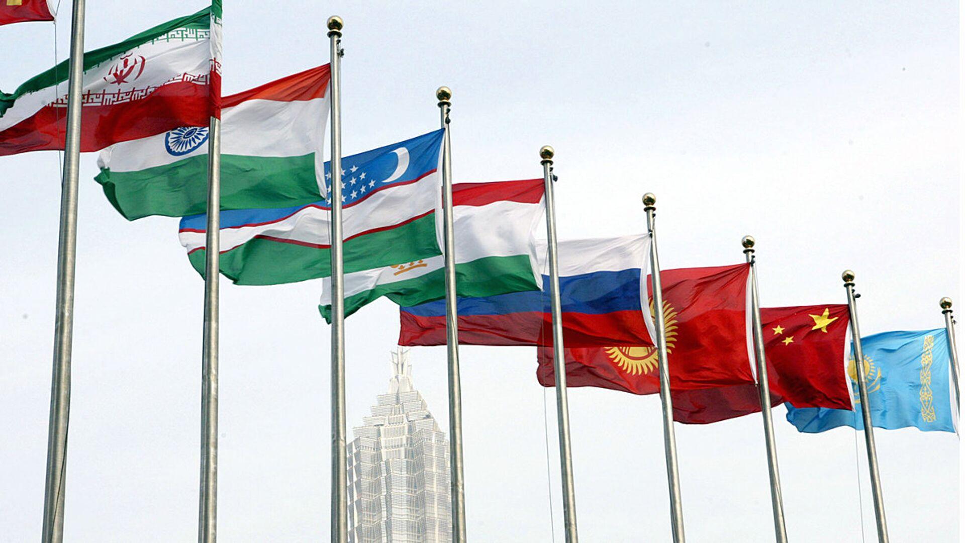 Flagi stran-uchastnits SHOS - Sputnik Oʻzbekiston, 1920, 09.09.2021