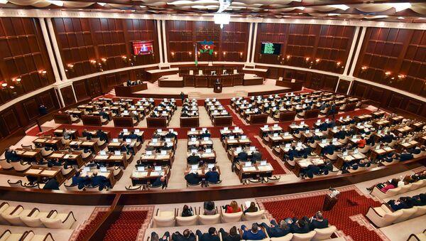 Заседание парламента Азербайджана, фото из архива - Sputnik Узбекистан