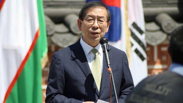 Мэр г.Сеула г-н Пак Вон Сун - Sputnik Узбекистан