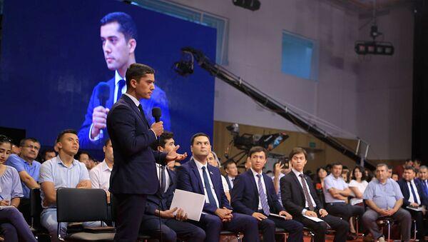 Заместитель гендиректора Агентства по науке и технологиям Олимжон Туйчиев - Sputnik Узбекистан