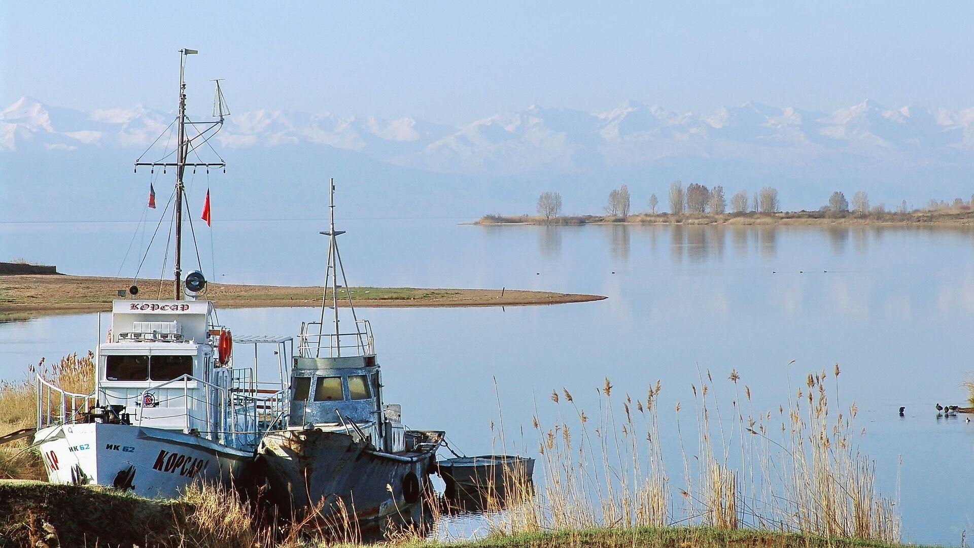 Озеро Иссык-Куль - Sputnik Ўзбекистон, 1920, 20.03.2021