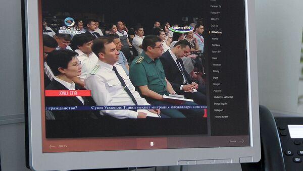 Просмотр прямой трансляции с участием министра иностранных дел Узбекистана Абдулазиза Камилова - Sputnik Узбекистан