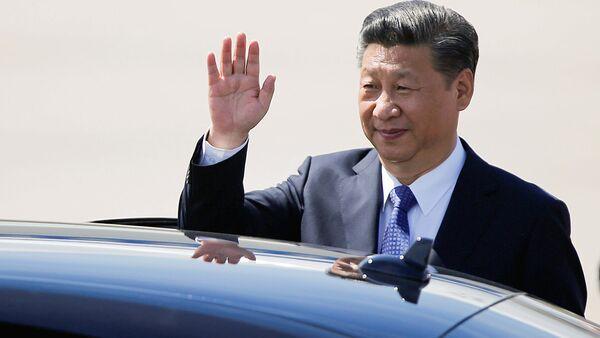 Председатель КНР Си Цзиньпин - Sputnik Ўзбекистон