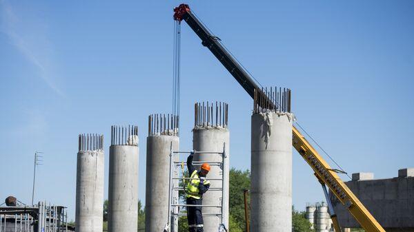 Строительство путепровода - Sputnik Узбекистан