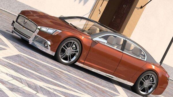 Volga 2020 Concept - Sputnik Ўзбекистон