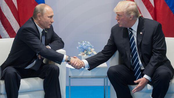 Prezident RF V. Putin prinimayet uchastiye v sammite Gruppы dvadtsati v Gamburge - Sputnik Oʻzbekiston